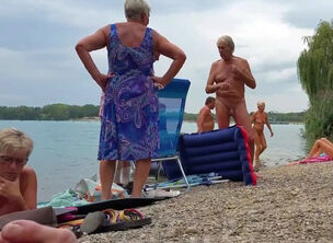 Men nudist beach